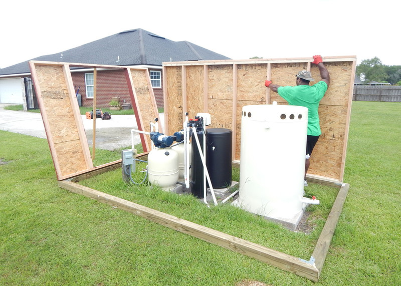 Florida Jacksonville Storage Sheds And Portable Buildings Pump Houses