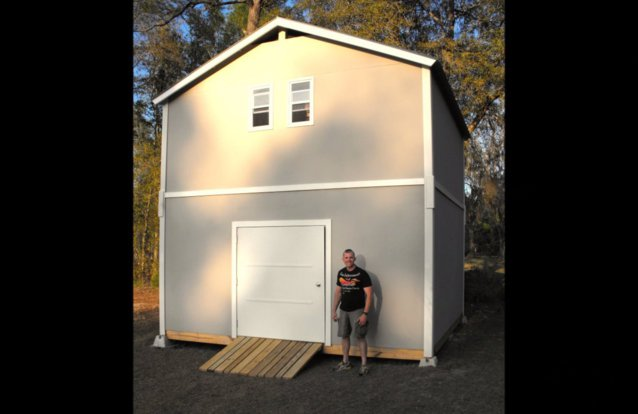 florida jacksonville storage sheds and portable buildings two story buildingsvideo - Garden Sheds Florida